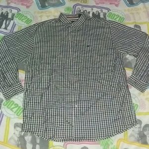 90s Nautica Vintage Plaid Button Up Shirt Fashion